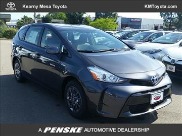 2017 Toyota Prius v for sale in San Diego, CA