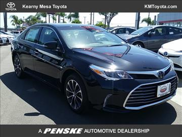 2017 Toyota Avalon for sale in San Diego, CA