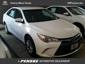 2017 Toyota Camry for sale in San Diego, CA