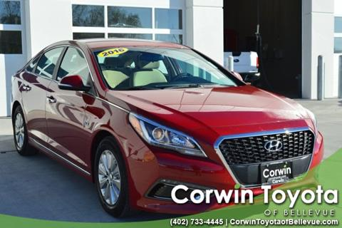 2016 Hyundai Sonata Hybrid for sale in Bellevue, NE