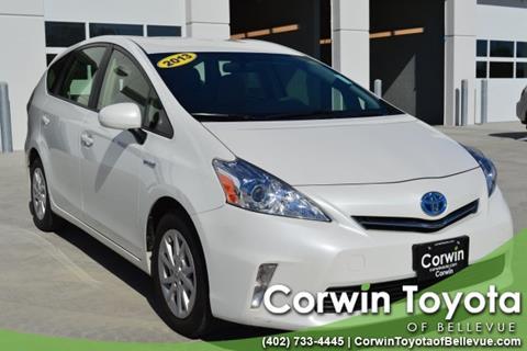 2013 Toyota Prius v for sale in Bellevue, NE