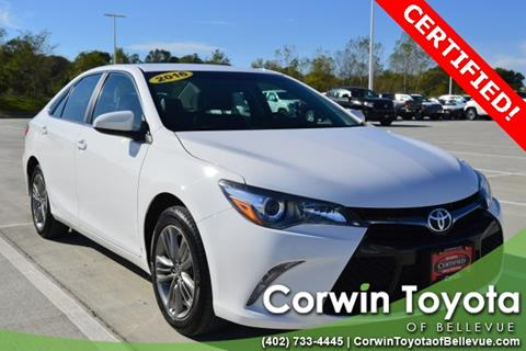 2016 Toyota Camry for sale in Bellevue, NE