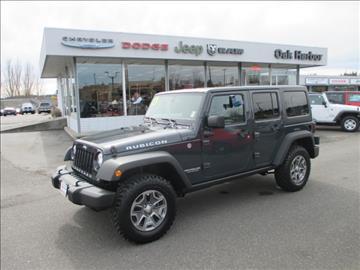 2017 Jeep Wrangler Unlimited for sale in Oak Harbor, WA