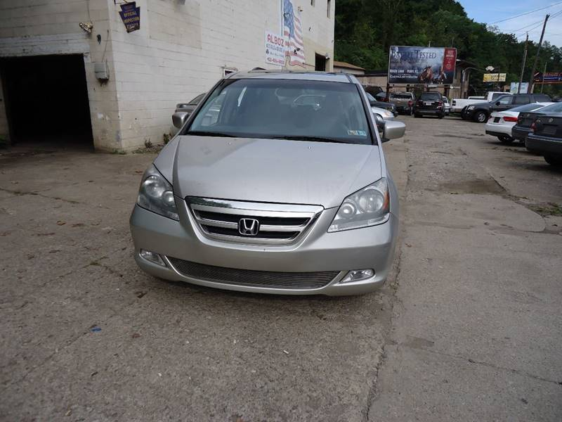 2006 Honda Odyssey For Sale At ALBOZ AUTO SALES AND SERVICE In Pittsburgh PA