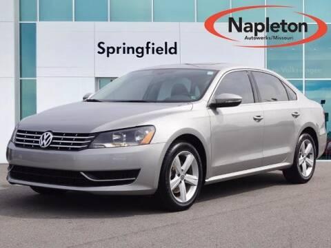 2012 Volkswagen Passat for sale at Napleton Autowerks in Springfield MO