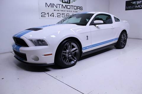 2012 Ford Shelby GT500 for sale in Dallas, TX