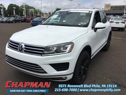 2017 Volkswagen Touareg for sale in Philadelphia, PA