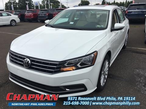 2017 Volkswagen Passat for sale in Philadelphia, PA