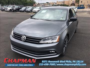 2017 Volkswagen Jetta for sale in Philadelphia, PA