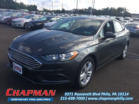 2018 Ford Fusion for sale in Philadelphia, PA