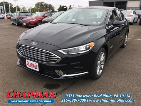 2018 Ford Fusion Energi for sale in Philadelphia, PA