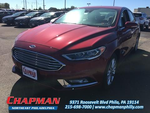 2017 Ford Fusion Energi for sale in Philadelphia, PA