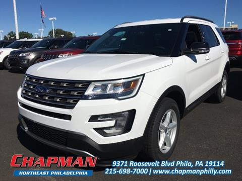 2017 Ford Explorer for sale in Philadelphia, PA