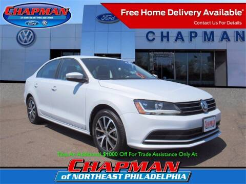 2017 Volkswagen Jetta for sale at CHAPMAN FORD NORTHEAST PHILADELPHIA in Philadelphia PA