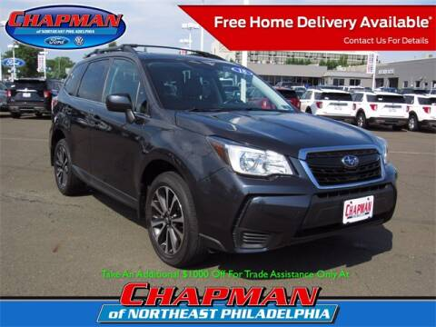 2018 Subaru Forester for sale at CHAPMAN FORD NORTHEAST PHILADELPHIA in Philadelphia PA