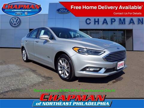 2017 Ford Fusion Energi for sale at CHAPMAN FORD NORTHEAST PHILADELPHIA in Philadelphia PA