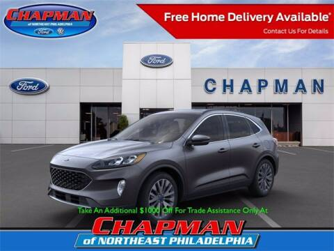 2020 Ford Escape Hybrid for sale at CHAPMAN FORD NORTHEAST PHILADELPHIA in Philadelphia PA