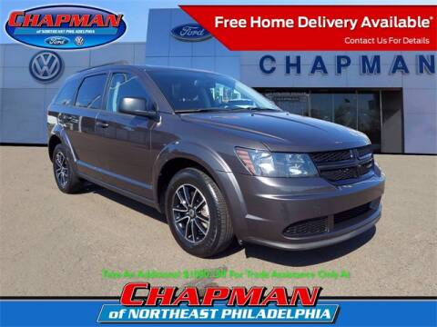 2018 Dodge Journey for sale at CHAPMAN FORD NORTHEAST PHILADELPHIA in Philadelphia PA