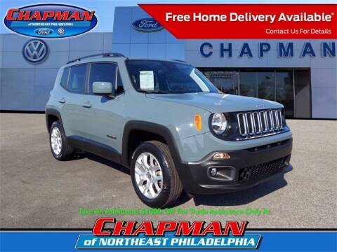 2018 Jeep Renegade for sale at CHAPMAN FORD NORTHEAST PHILADELPHIA in Philadelphia PA