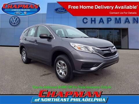 2016 Honda CR-V for sale at CHAPMAN FORD NORTHEAST PHILADELPHIA in Philadelphia PA