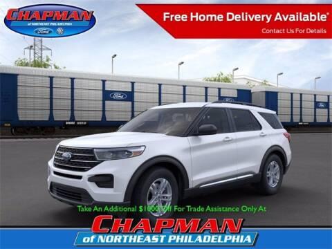2020 Ford Explorer for sale at CHAPMAN FORD NORTHEAST PHILADELPHIA in Philadelphia PA