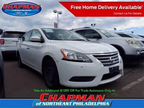 2015 Nissan Sentra for sale at CHAPMAN FORD NORTHEAST PHILADELPHIA in Philadelphia PA