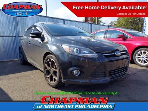2013 Ford Focus for sale at CHAPMAN FORD NORTHEAST PHILADELPHIA in Philadelphia PA