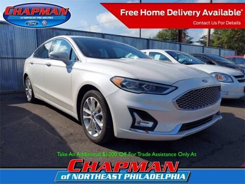 2019 Ford Fusion Energi for sale at CHAPMAN FORD NORTHEAST PHILADELPHIA in Philadelphia PA