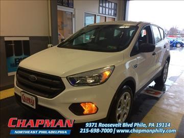 2017 Ford Escape for sale in Philadelphia, PA