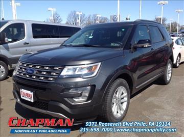 2017 Ford Explorer for sale in Philadelphia, PA