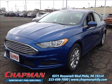 2017 Ford Fusion for sale in Philadelphia, PA
