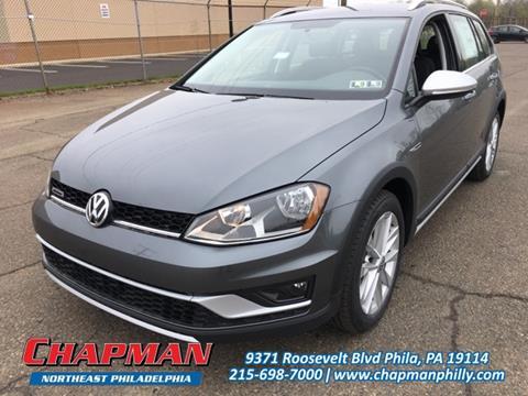 2017 Volkswagen Golf Alltrack for sale in Philadelphia, PA