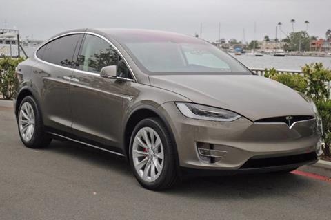 2016 Tesla Model X for sale in Newport Beach, CA