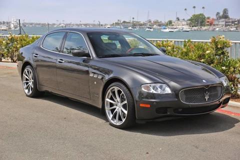 2008 Maserati Quattroporte for sale in Newport Beach, CA