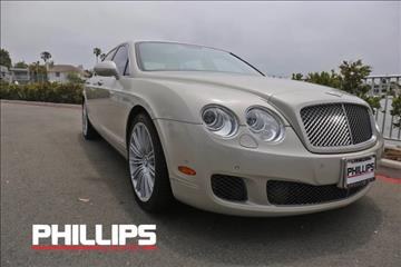 2010 Bentley Continental Flying Spur Speed for sale in Newport Beach, CA