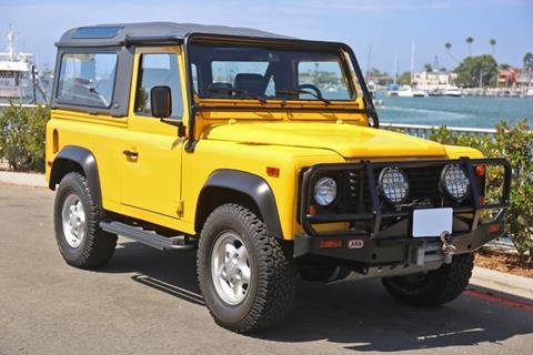 1997 Land Rover Defender for sale in Newport Beach, CA