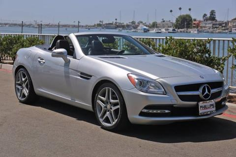 2013 Mercedes-Benz SLK for sale in Newport Beach, CA