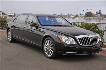 2012 Maybach 62 for sale in Newport Beach, CA