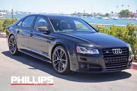 2017 Audi S8 plus for sale in Newport Beach, CA