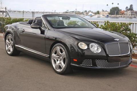 2012 Bentley Continental GTC for sale in Newport Beach, CA