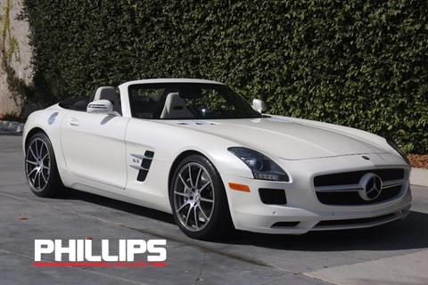 2012 Mercedes-Benz SLS AMG for sale in Newport Beach, CA