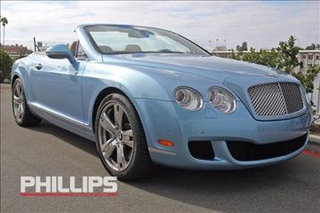 2011 Bentley Continental GTC for sale in Newport Beach, CA