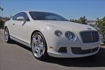 2012 Bentley Continental GT for sale in Newport Beach, CA