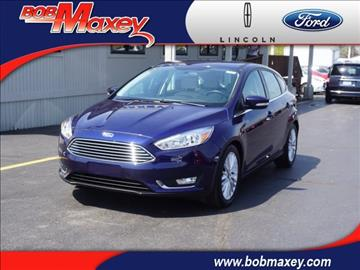 2016 Ford Focus for sale in Howell, MI