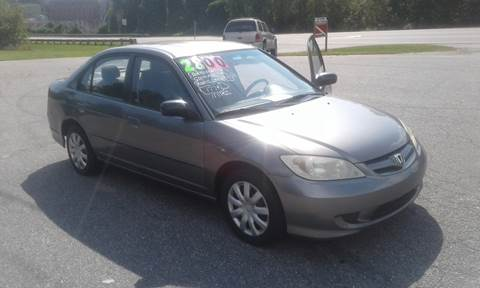 2005 Honda Civic for sale in Taylorsville, NC