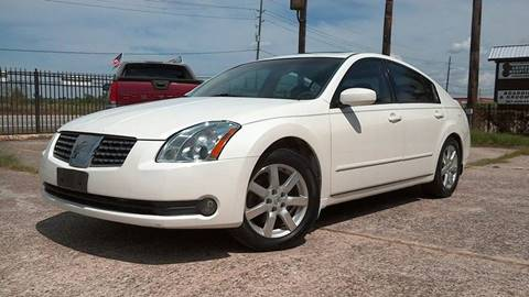 2004 Nissan Maxima for sale at Texan Direct Auto Group in Houston TX