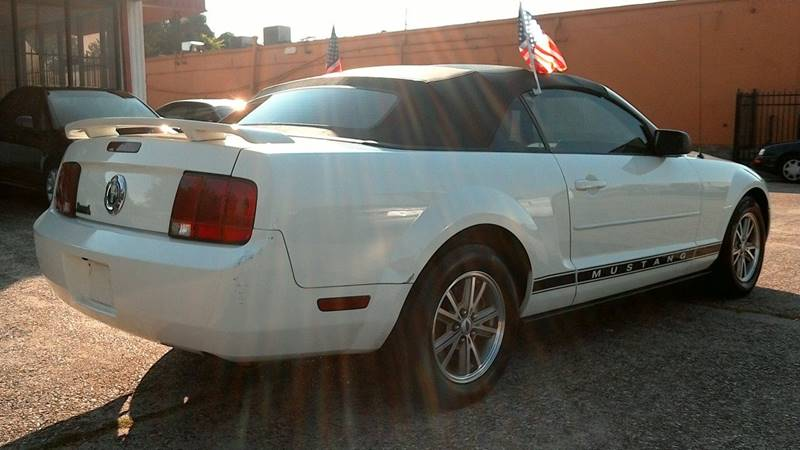 2005 Ford Mustang for sale at Texan Direct Auto Group in Houston TX