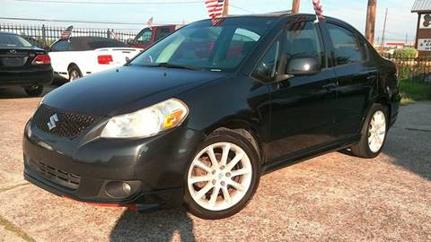 2009 Suzuki SX4 for sale at Texan Direct Auto Group in Houston TX