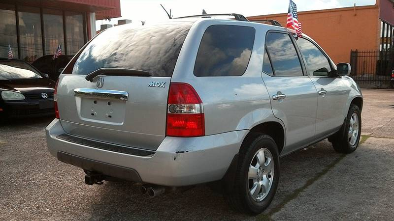 2003 Acura MDX for sale at Texan Direct Auto Group in Houston TX