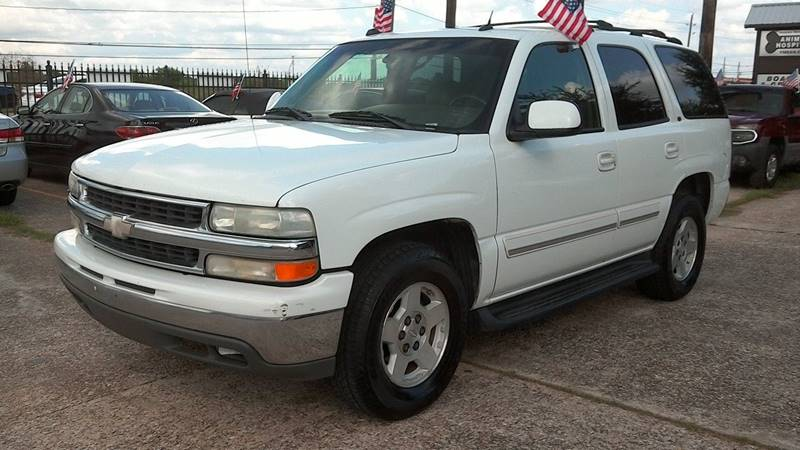 2004 Chevrolet Tahoe for sale at Texan Direct Auto Group in Houston TX